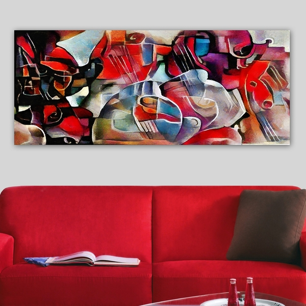 YTY594386936_50120 Multicolor Decorative Canvas Painting