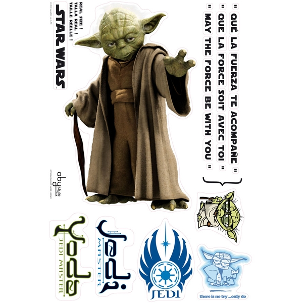 Star Wars - Yoda (Blister) Stickers