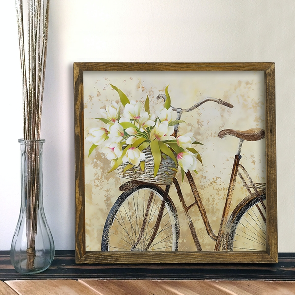 MZM807 Multicolor Decorative Framed MDF Painting