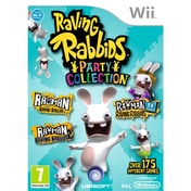 Rayman Raving Rabbids Trilogy Party Collection Game Wii