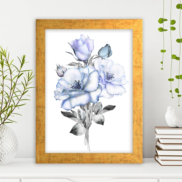AC636053897 Multicolor Decorative Framed MDF Painting