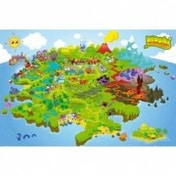 Moshi Monster Map Maxi Poster