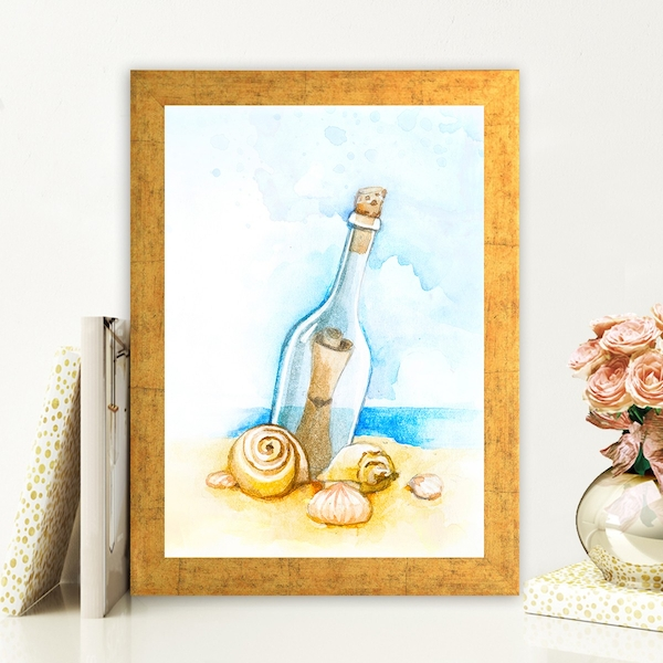 AC98119424 Multicolor Decorative Framed MDF Painting