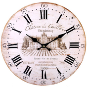 Shabby Chic Chateau De Guilleroi Wall Clock