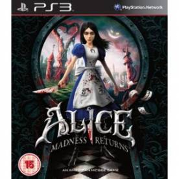 Alice Madness Returns Game PS3