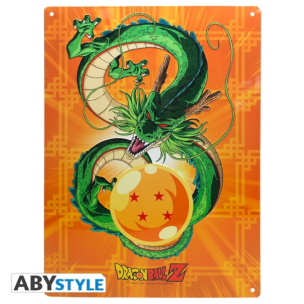 Dragon Ball - Shenron (28 x 38cm) With Hook Metal Plate