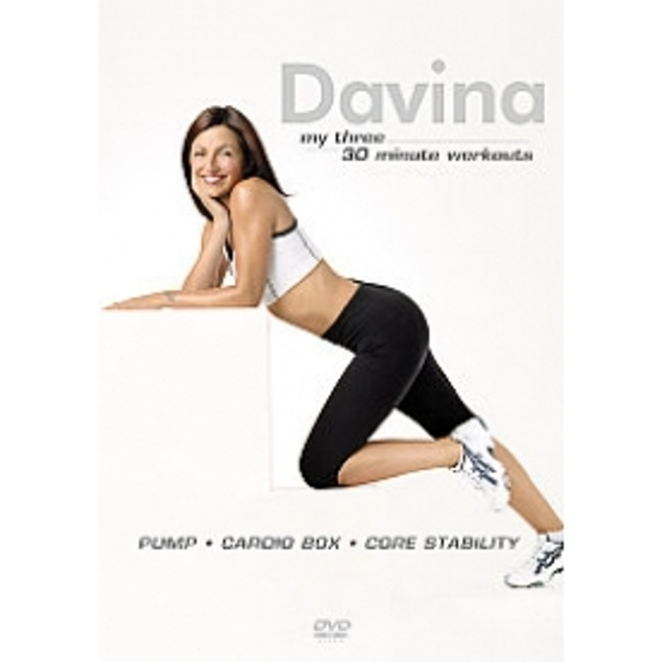 Davina McCall My Three 30 Minute Workouts DVD