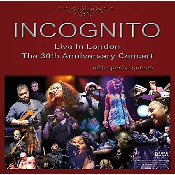 Incognito - Live In London - The 30Th Anniversary Concert Vinyl