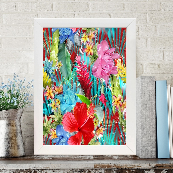 BC316140269 Multicolor Decorative Framed MDF Painting