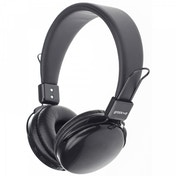 Groov-e Rhythm Wireless Bluetooth or Wired Stereo Headphones Black