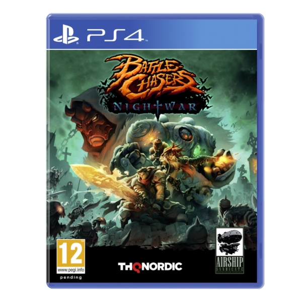 Battle Chasers Nightwar PS4 Game
