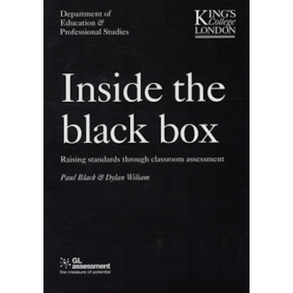 Inside the Black Box : Raising Standards Through Classroom Assessment v. 1