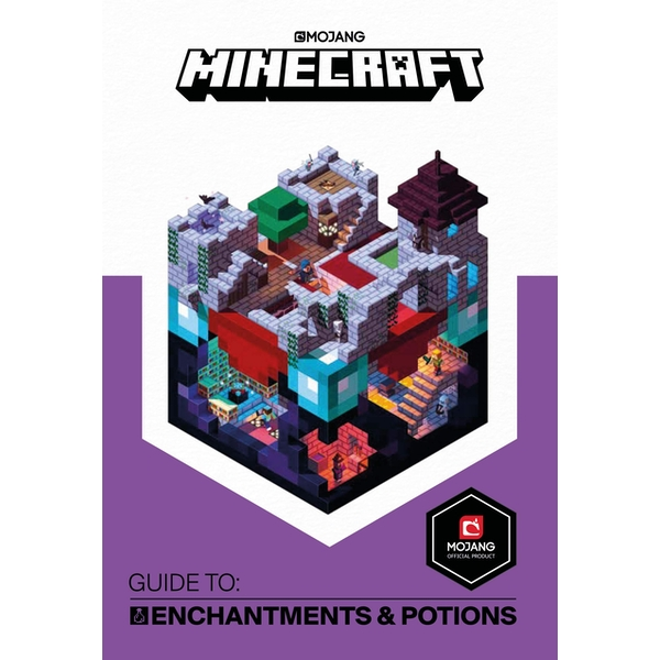 Minecraft Guide to Enchantments and Potions: An official Minecraft book from Mojang Hardcover - 3 May 2018