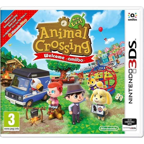Animal Crossing New Leaf Welcome Amiibo 3DS Game + Cyrus Amiibo - Image 2