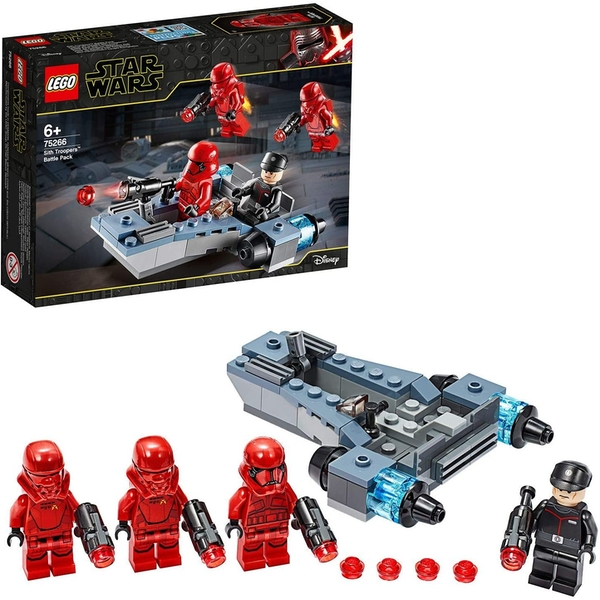 LEGO Sith Troopers With Battle Speeder (Star Wars) Battle Pack 75266