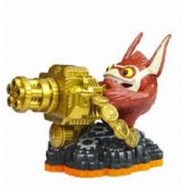 Series 2 Trigger Happy (Skylanders Giants) Tech Character Figure - Image 1