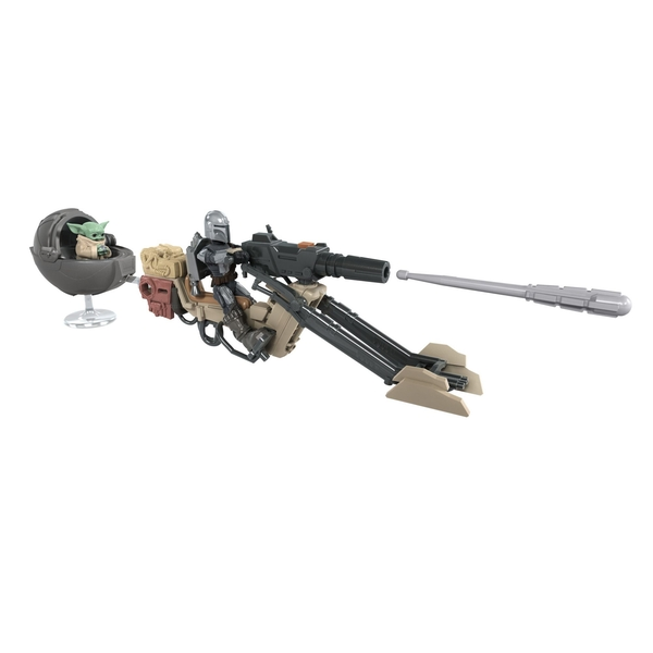 Mission Fleet The Mandalorian The Child Battle for the Bounty (Star Wars) Playset