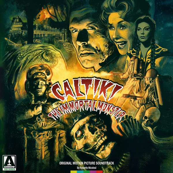 Roberto Nicolosi - Caltiki The Immortal Monster - OST Translucent Green  Vinyl