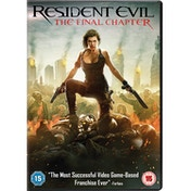 Resident Evil: The Final Chapter DVD 2017