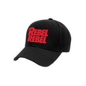 David Bowie - Rebel Rebel Baseball Cap - Black
