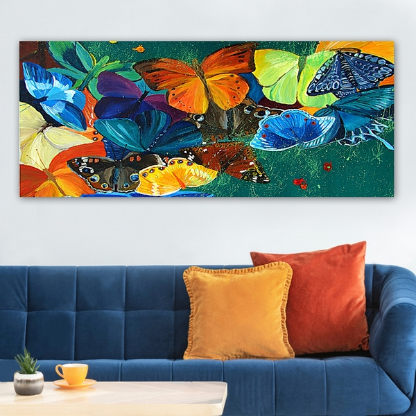 YTY22276204202_50120 Multicolor Decorative Canvas Painting