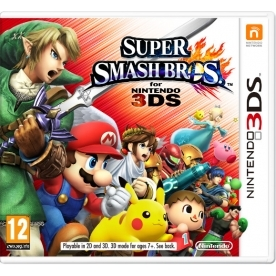 Super Smash Bros Game 3DS