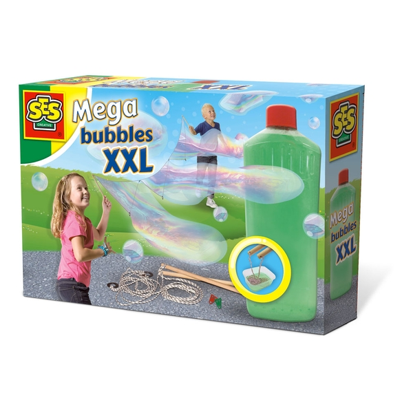 SES Creative - Children's Mega Bubbles XXL Blower (Multi-colour)