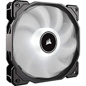 Corsair AF High Airflow Low Noise White LED Cooling Fan - 120mm