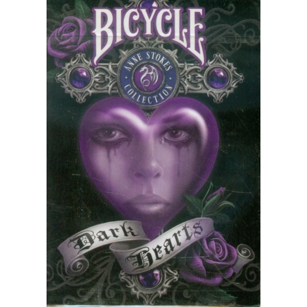 Bicycle Anne Stokes Dark Hearts Deck Playing Cards