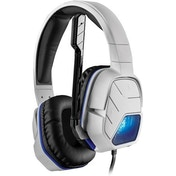 Afterglow LVL 5 White Wired Stereo Headset for PS4