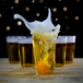 Party Drinking Pong Kit | Beer & Prosecco Glasses | Pukkr - Image 3