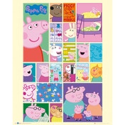 Peppa Pig Grid Mini Poster