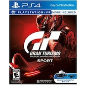 Gran Turismo GT Sport PS4 Game (PSVR Compatible)