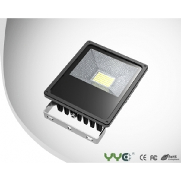 YYC 50w Slim Line Floodlight Pure White
