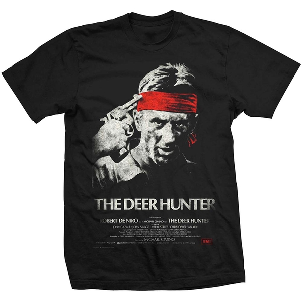 StudioCanal - The Deer hunter Unisex Medium T-Shirt - Black
