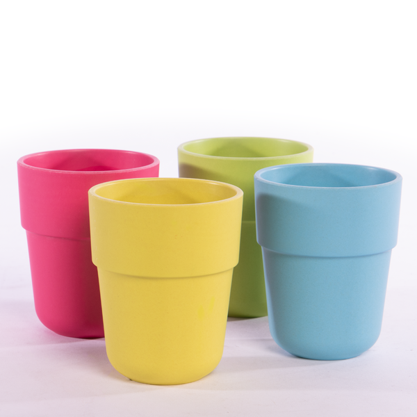 Bamboo Fibre Tableware Bamboo Fibre Cups - Set of 4 | M&W - Image 1