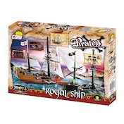 Cobi Pirates Royal Ship 350 Toy Building Bricks