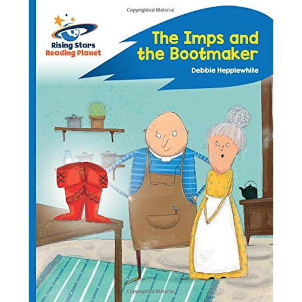 Reading Planet - The Imps and the Bootmaker - Blue: Rocket Phonics  Paperback / softback 2019