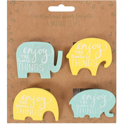 Pack Of 4 Magnet Clips