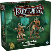 Runewars Miniatures Game: Prince Faolan Expansion Pack