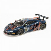 Minichamps 1:18 Scale 2013 Mclaren MP4-12C Von Ryan Racing 24h SPA Die Cast Model