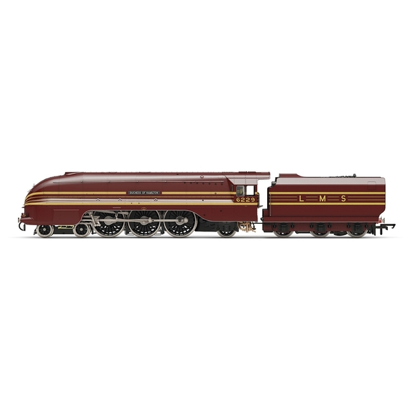 Hornby LMS Princess Coronation Class 4-6-2 6229 Duchess of Hamilton Era 3 Model Train