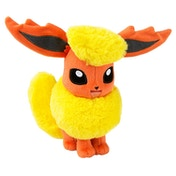Pokemon Flareon 8 inch Collectable Plush Toy