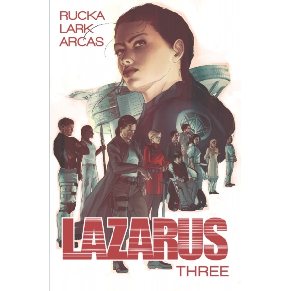 Lazarus Volume 3 Three Paperback