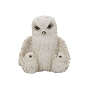Feathered Family Owl Statue