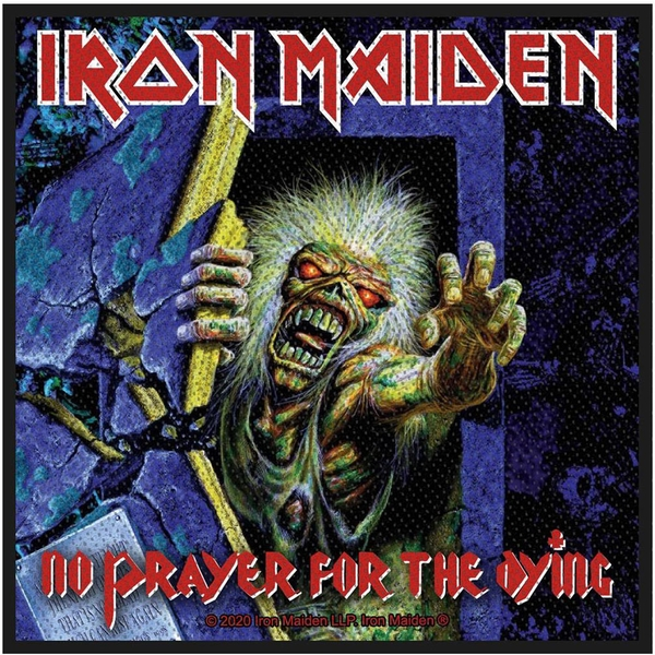 Iron Maiden - No Prayer For the Dying Standard Patch