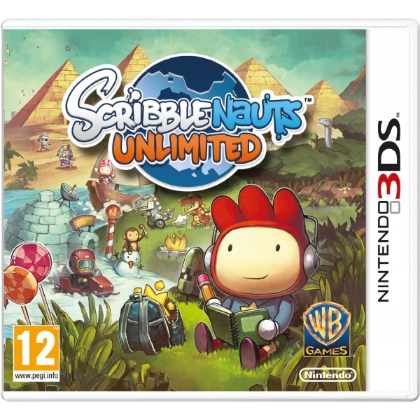 Scribblenauts Unlimited Game 3DS