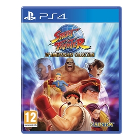 Street Fighter 30th Anniversary Collection PS4 Game