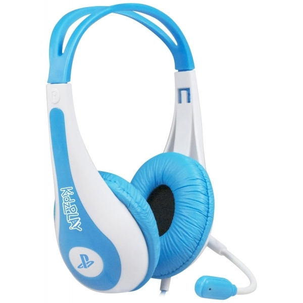 KidzPLAY Stereo Gaming Headset Blue PS3 - nzgameshop.com