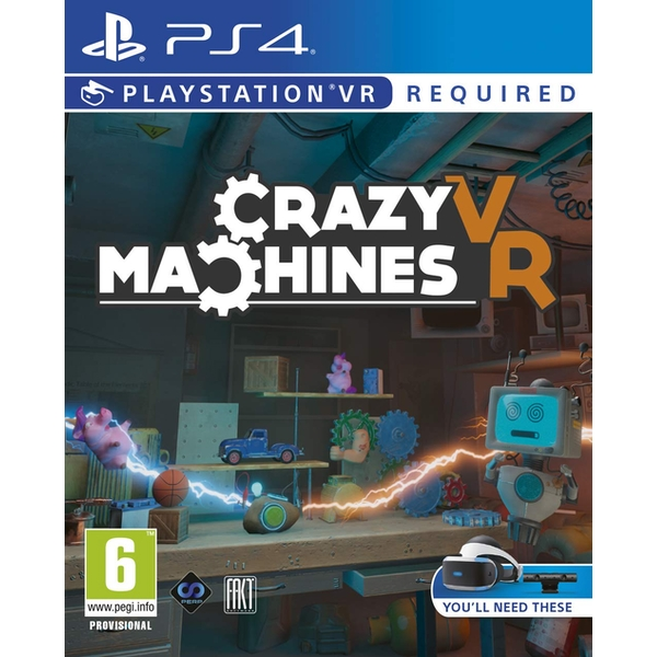 Crazy Machines PS4 Game (PSVR Required)